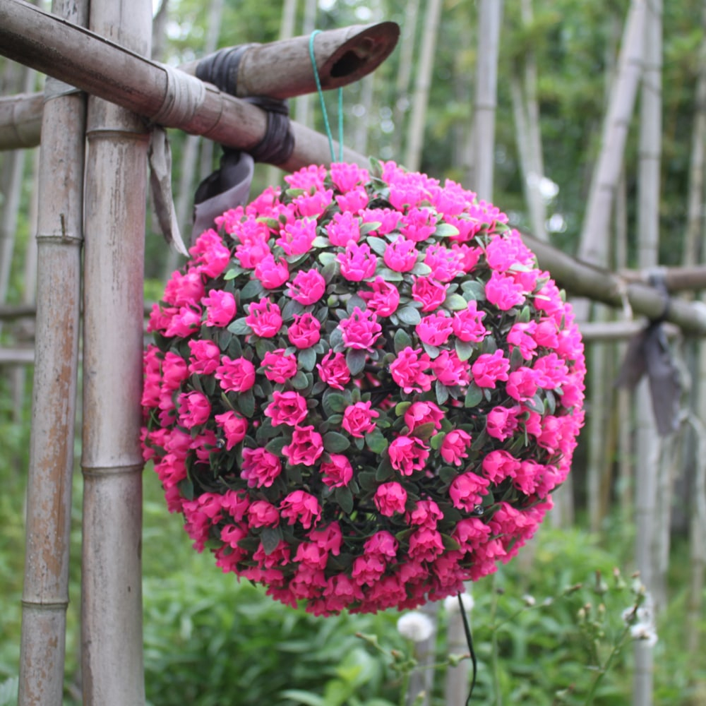 Xyhp201804270038 Boule De Fleur Solaire S'allume Lumières Décoratives  Jardin Jardin Hangin encequiconcerne Boule Décorative Jardin