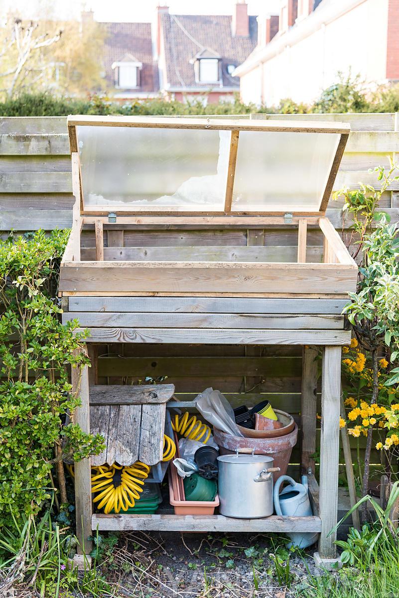 Yann Avril Photography | Garden And Nature Chassis Dans Un ... concernant Chassis De Jardin
