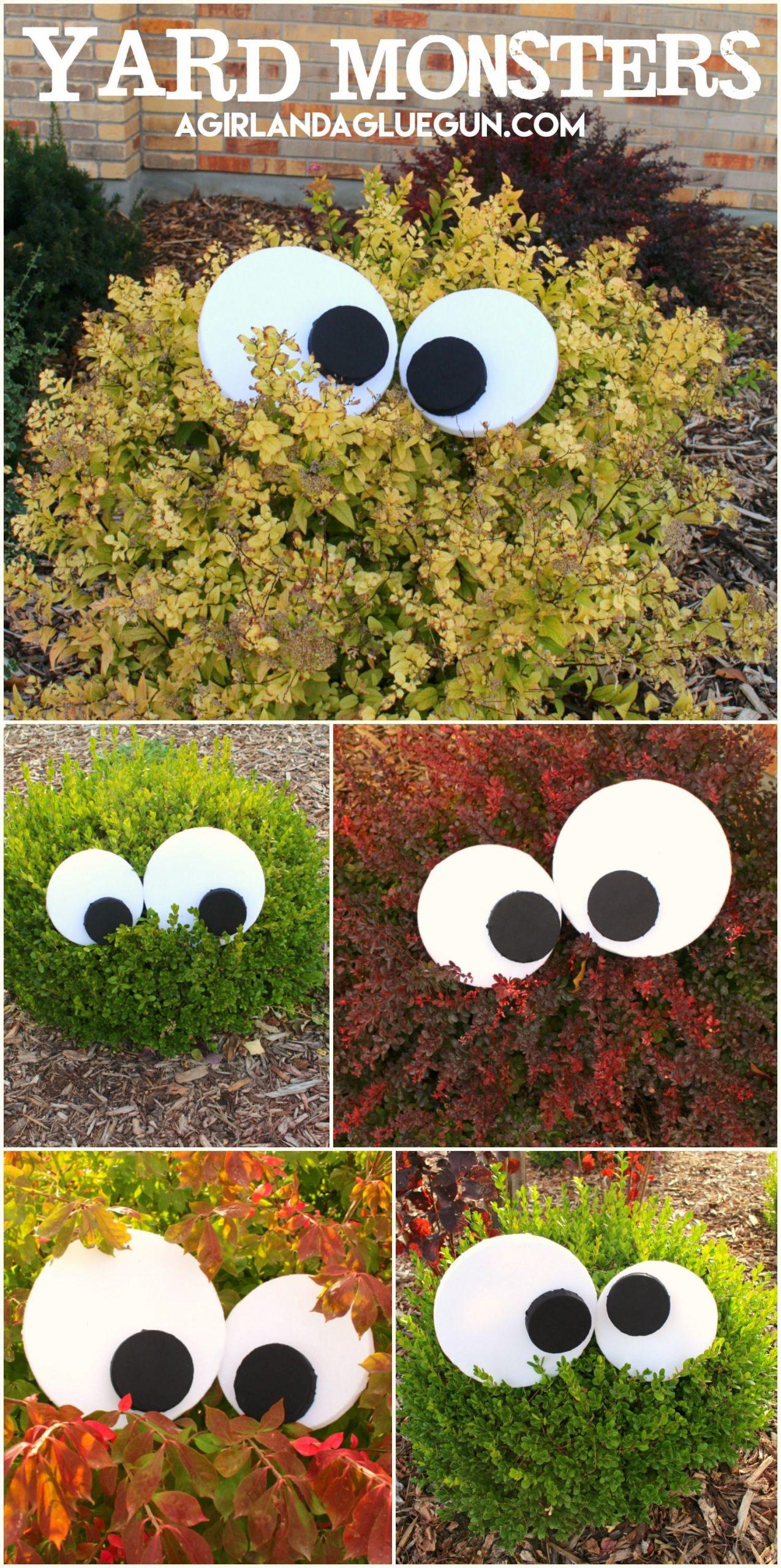 Yard Monsters!   Décoration Halloween Extérieur, Décoration ... avec Deco Jardin Halloween