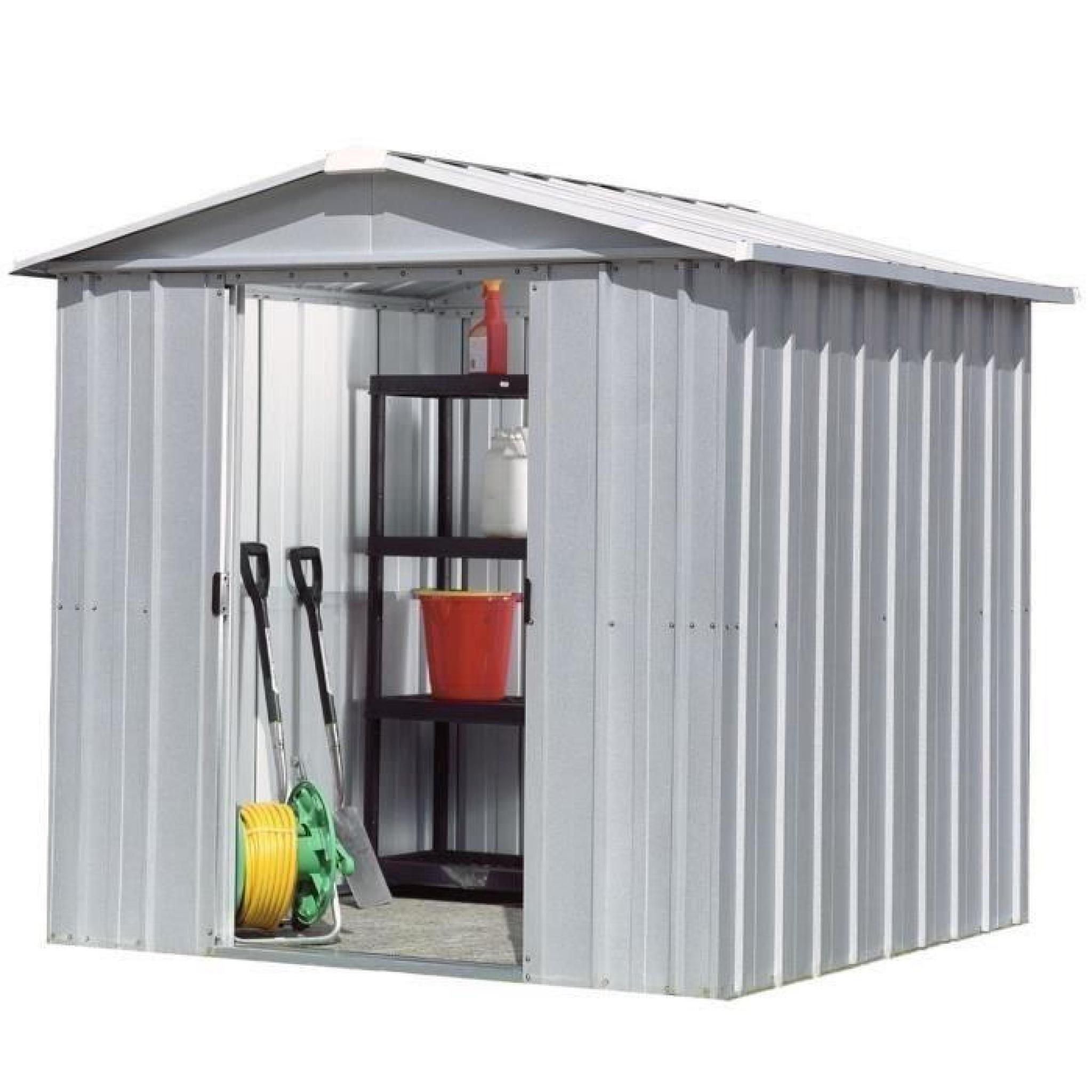 Yardmaster Abri De Jardin En Métal 4.79 M² destiné Abri De Jardin Pas Cher Metal
