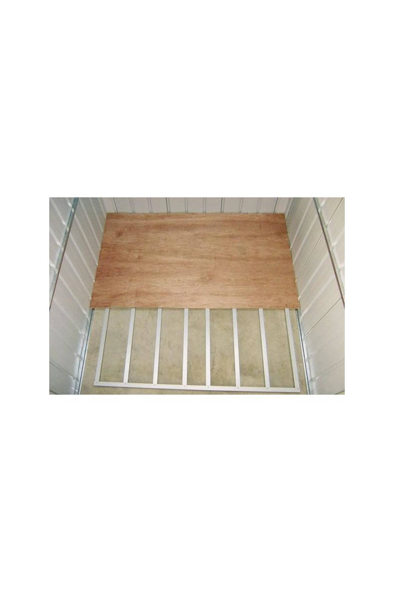Yardmaster Kit Plancher Pour Abris, Yardmaster Kit Plancher Pour Abris De  Jardin Métal 2,80 M² Tati.fr dedans Plancher Pour Abri De Jardin