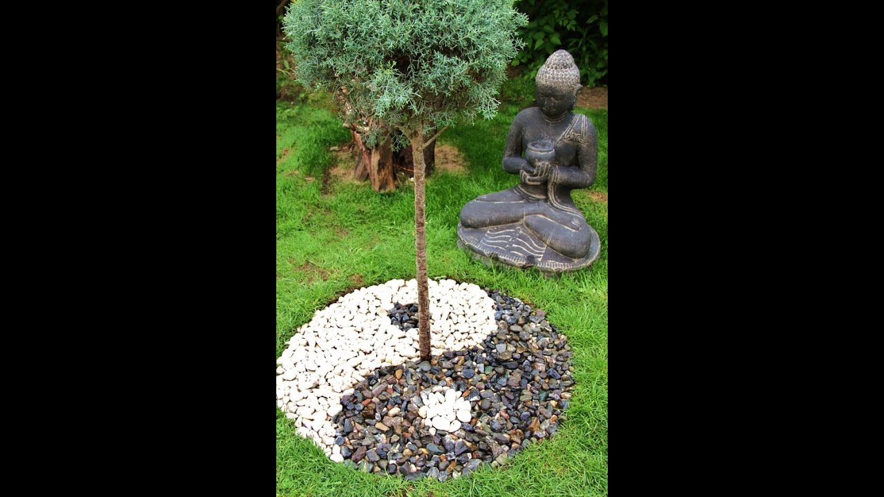 Yinyang Jardin Japonais Zen Yin Et Yang - Yin&yang - Yin ... à Accessoires Pour Jardin Japonais