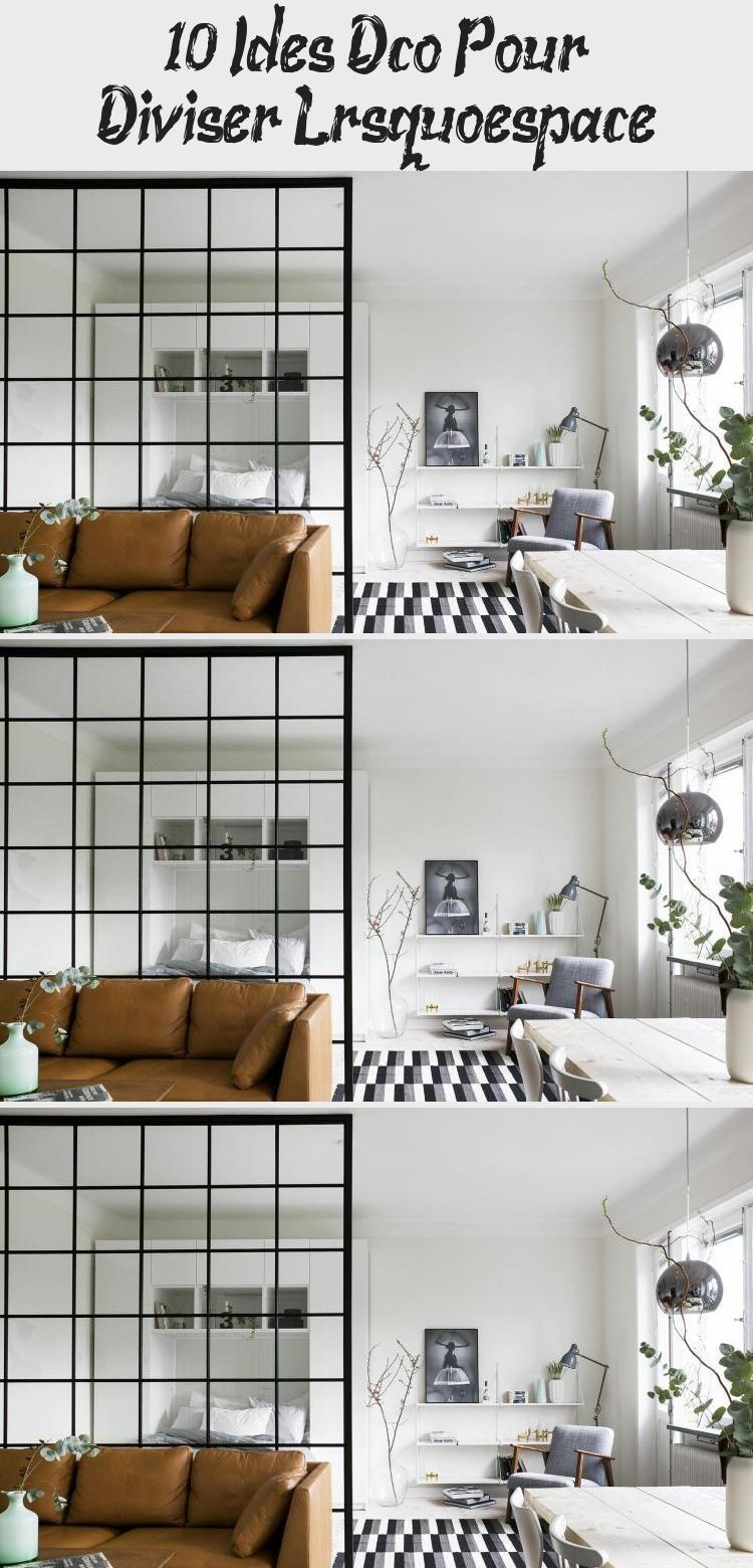 10 Idées Déco Pour Diviser L'espace | Home Decor, Home, Decor pour Idees-Deco.blog