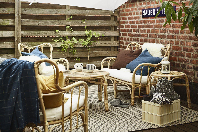 13 Salons De Jardin Quali À Prix Mini ! | Salon Rotin, Salon ... tout Salon De Jardin Ikea