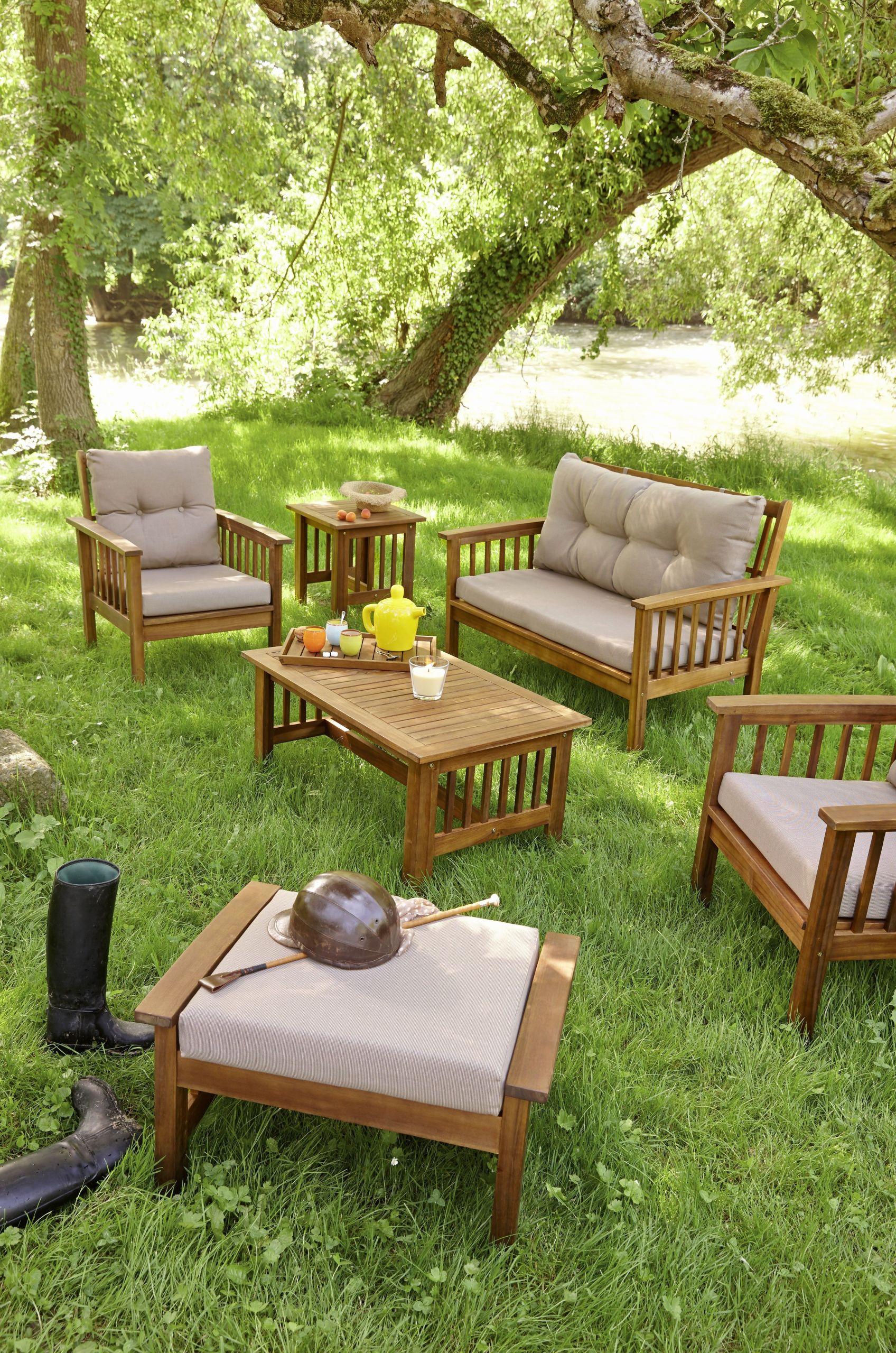 23 Génial Table Exterieur Teck | Salon Jardin pour Salon De Jardin Teck Solde