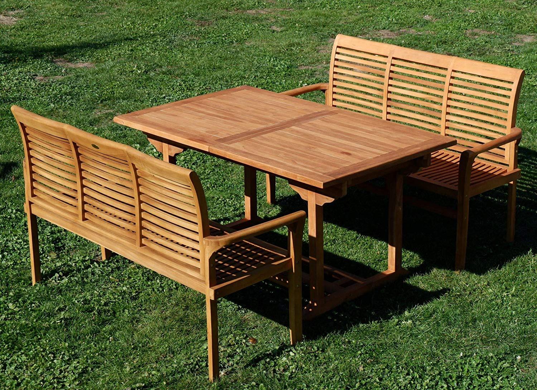 28 Luxe Table Teck Exterieur | Salon Jardin serapportantà Salon De Jardin Teck Occasion