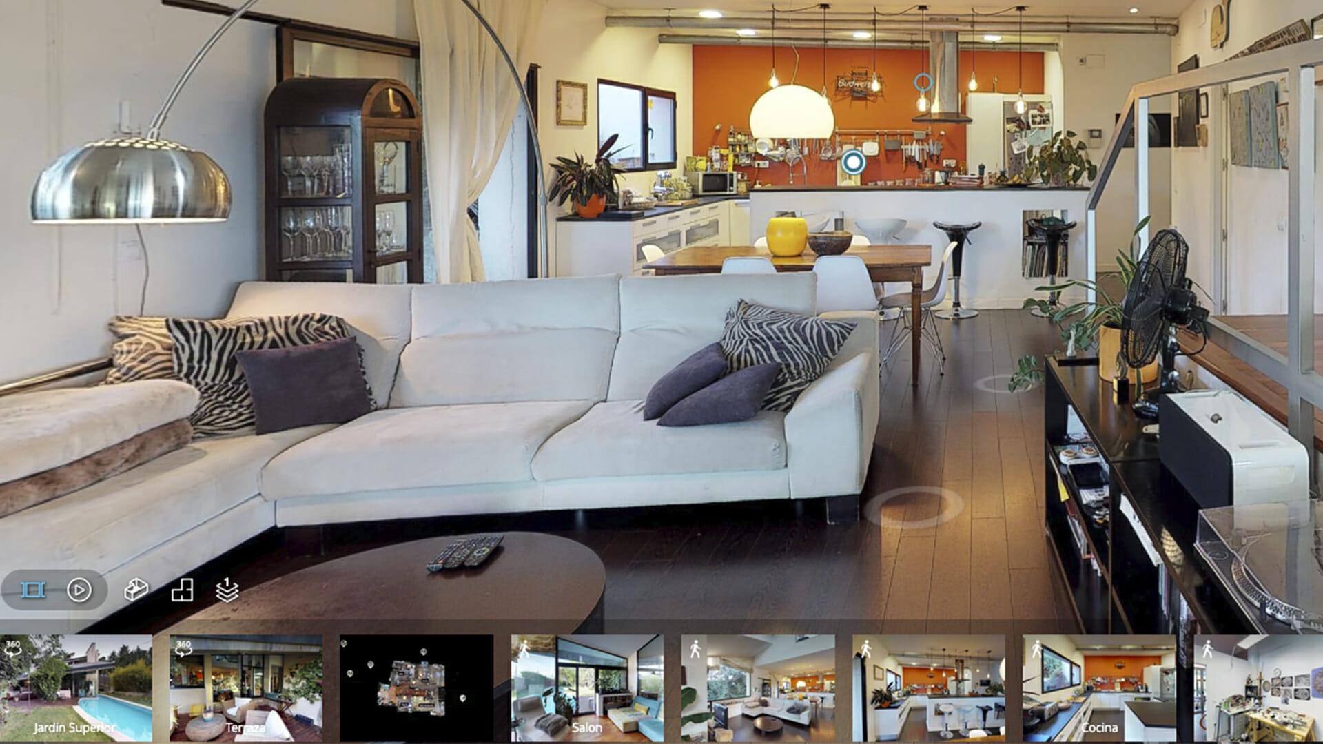 3Dvirtualtours intérieur But Salon Jardin