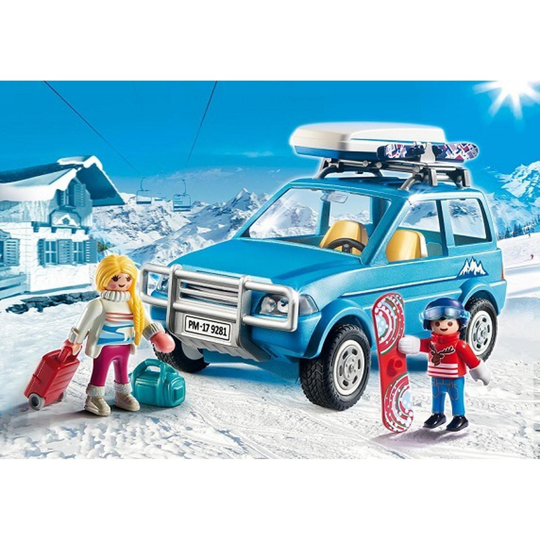 4X4 Avec Coffre De Toit 9281 Playmobil : La Boite À Prix ... destiné Coffre De Toit Carrefour