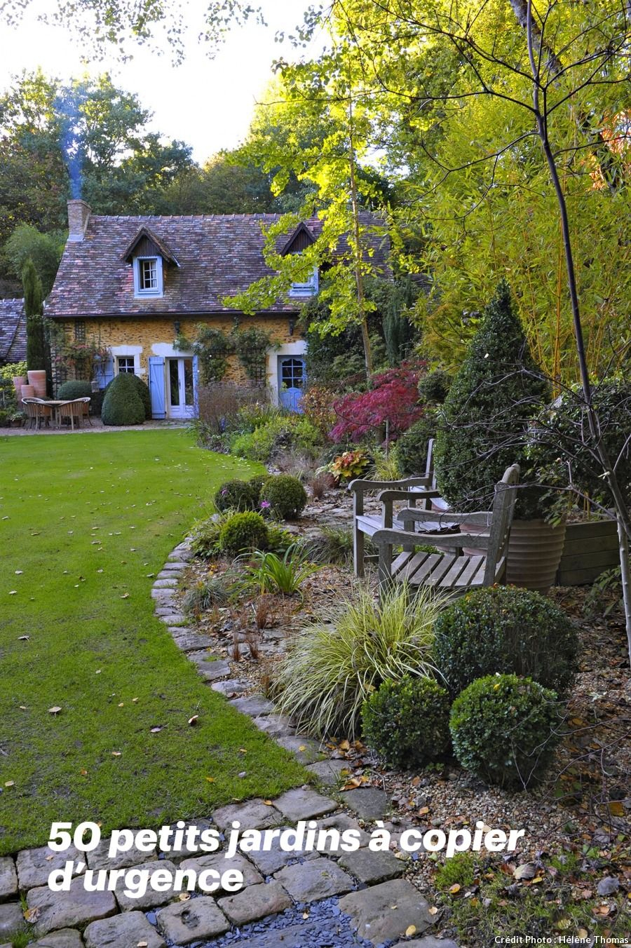 50 Petits Jardins À Copier D'urgence | Aménagements De ... avec Decoration D Un Petit Jardin