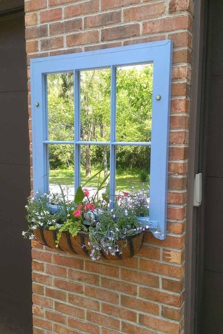 55 Idées Déco Jardin – Réutiliser Les Vieilles Portes Et ... destiné Decoration Murale Pour Jardin