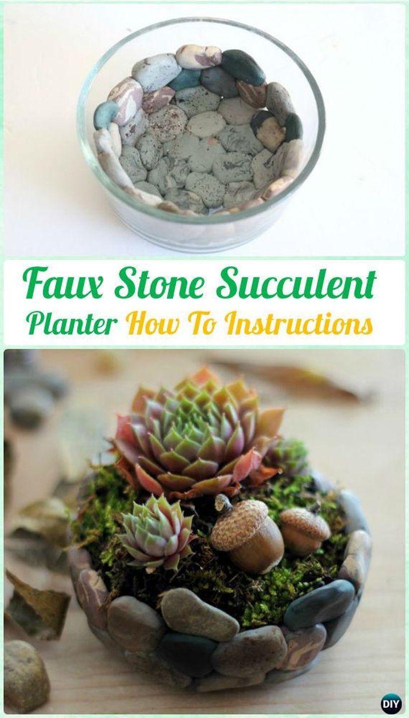 60 Amazing Diy Succulents Garden Decor Ideas Decomg ... dedans Mini Jardin Interieur