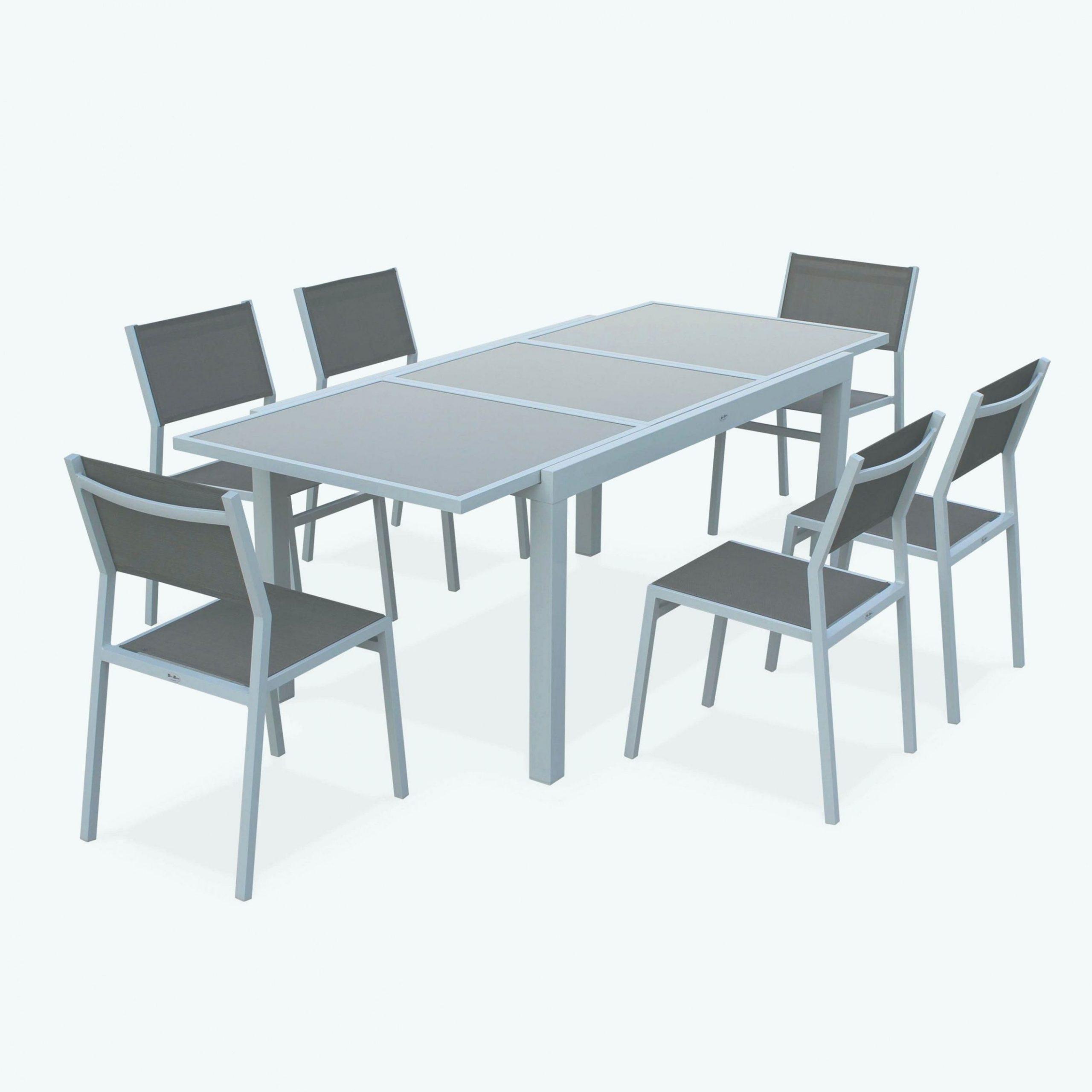 77 Salon De Jardin En Aluminium destiné Table De Jardin En Aluminium