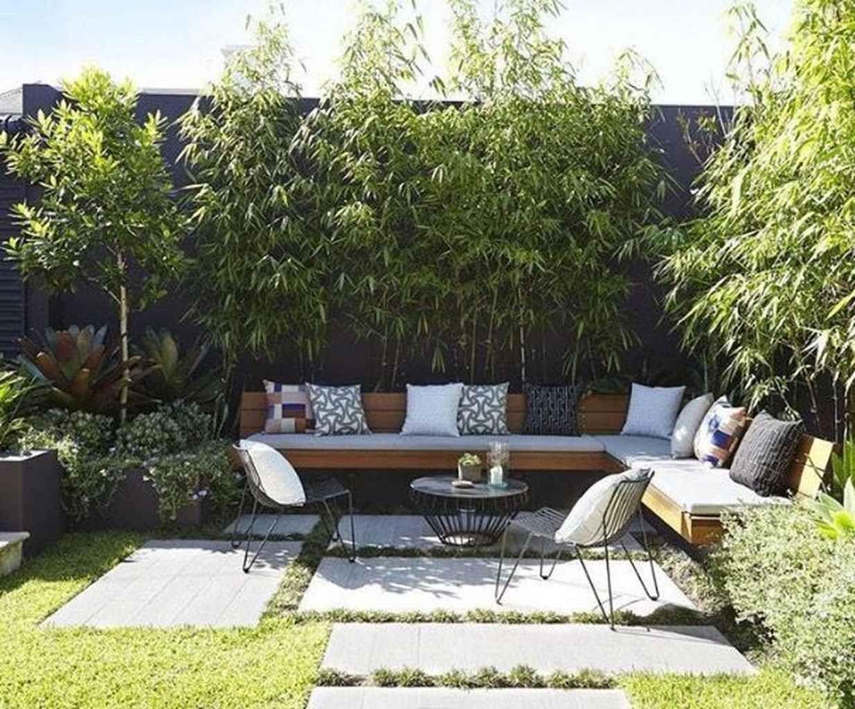 95 Small Courtyard Garden With Seating Area Design Ideas ... pour Deco Design Jardin Terrasse