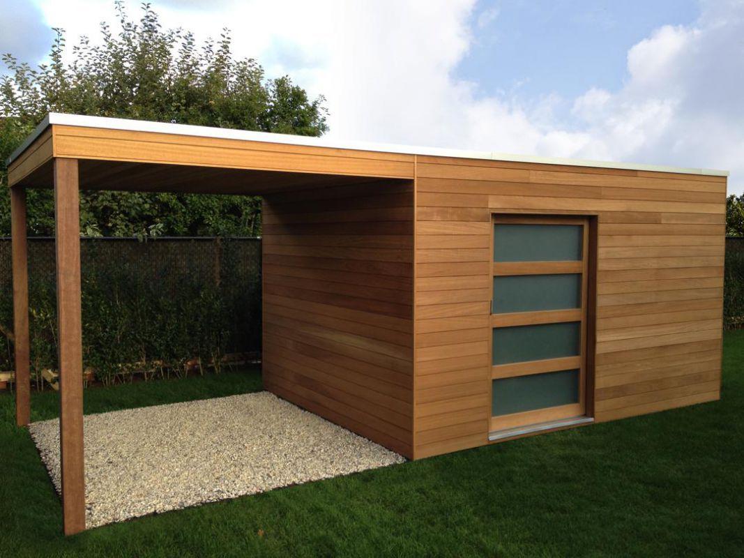 Abri De Jardin Contemporain En 2020 | Abri De Jardin Moderne ... destiné Abris De Jardin