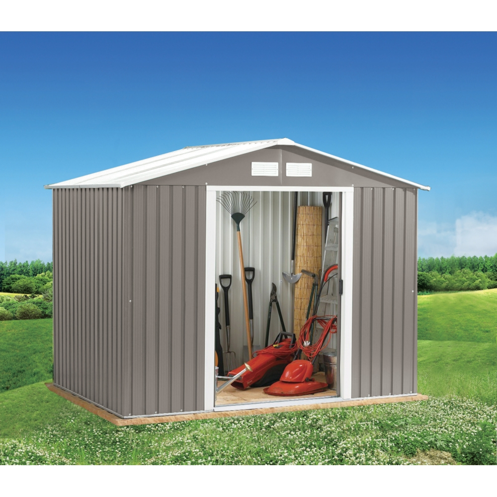 Abri De Jardin En Métal 2,3M² destiné Abri De Jardin Metal