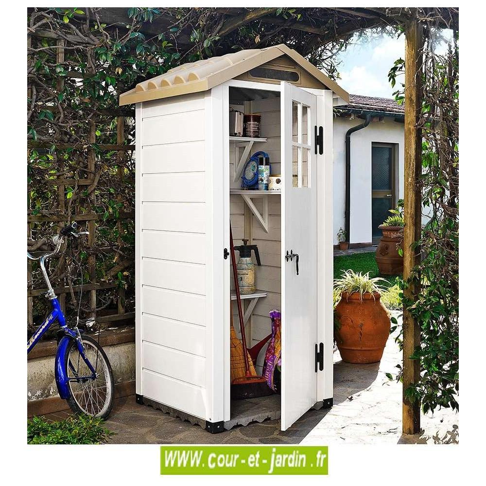 Abri De Jardin Pvc, Chalet Pvc Pas Cher, Abris De Jardin ... intérieur Rangement Jardin Pas Cher