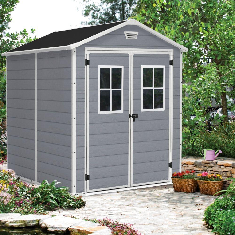 Abri De Jardin Résine Keter Premium 86+ 4,40 M² Ep.16 Mm avec Abri De Jardin Resine
