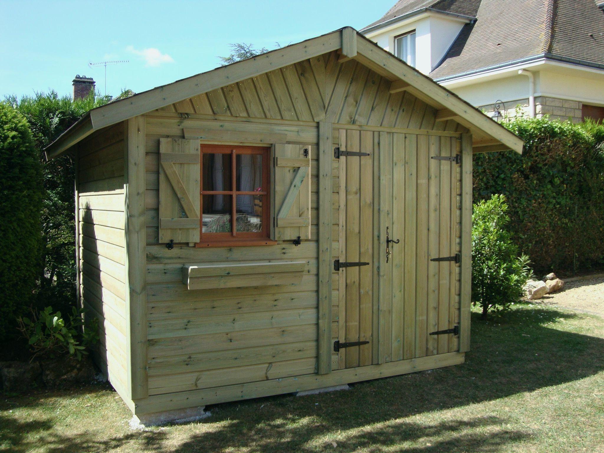 Abri Jardin Bois Brico Depot (With Images) | Log Cabin Kits ... dedans Abri De Jardin Brico