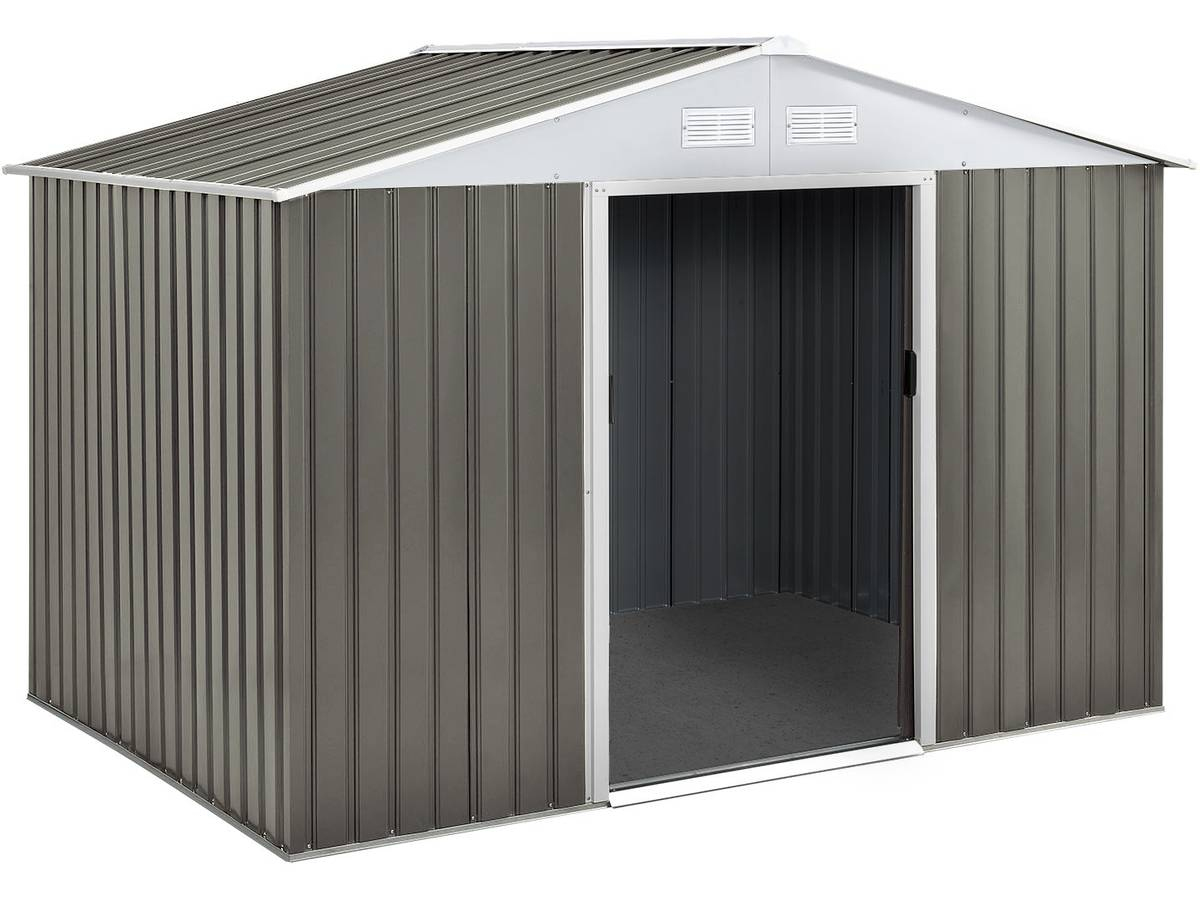 Abri Jardin Metal Dallas- 5,29 M² 74726 78621 pour Oogarden Abri De Jardin