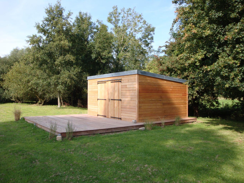 Abris De Jardin En Bois Sur-Mesure À Meulers (76510) > Djsl-Bois serapportantà Maison De Jardin Sur Mesure