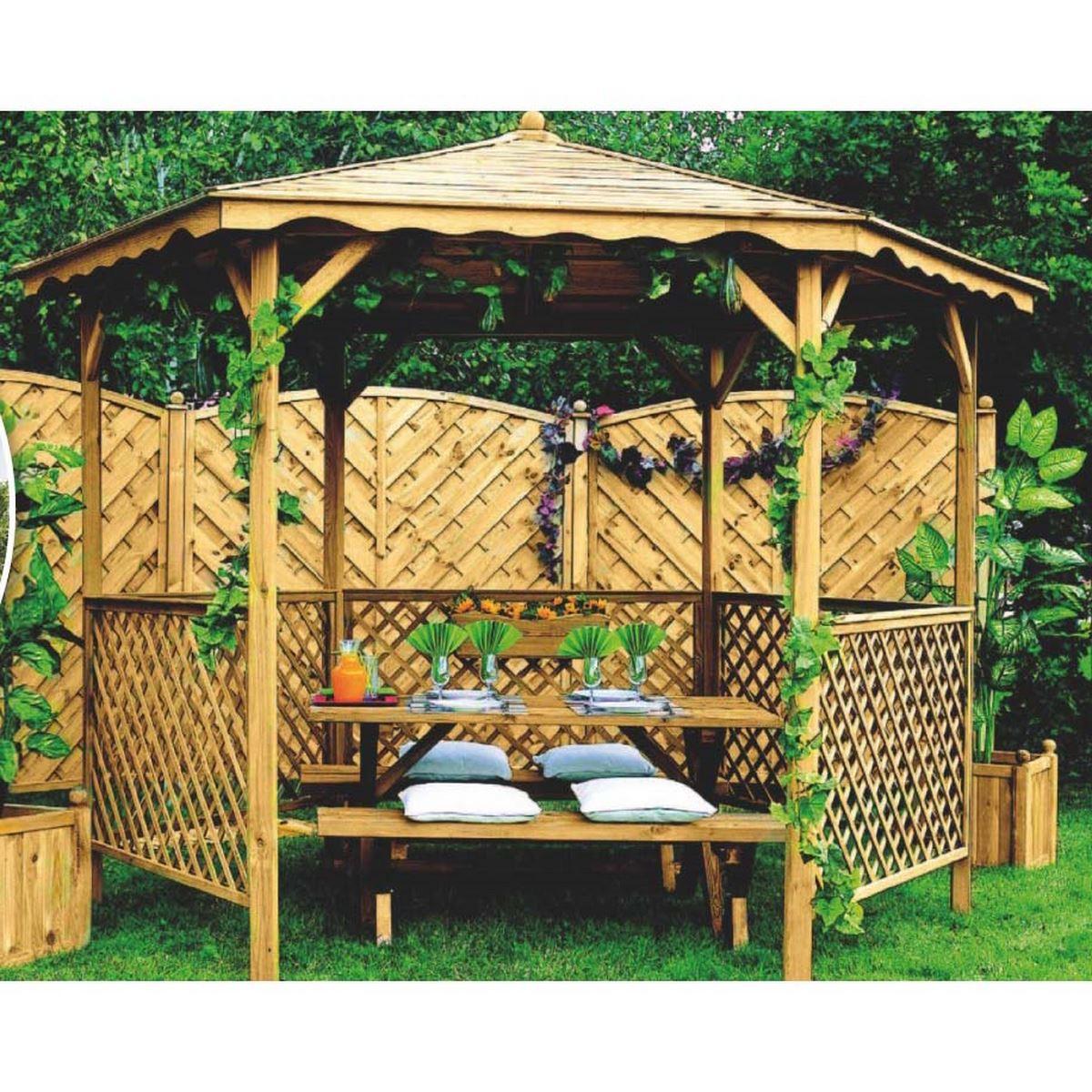 Abris De Jardin: Pergola De Jardin concernant Bricoman Abri De Jardin