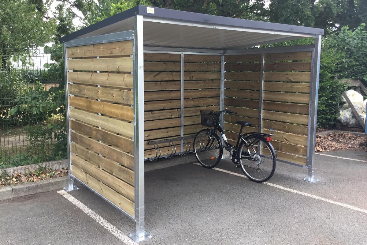 Abris Vélo / Moto : Abris Metalliques - Ateliers Letort destiné Abri Moto
