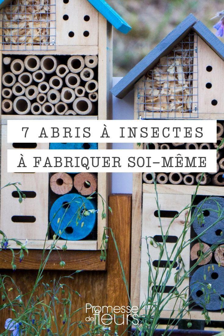 Accueillir Les Insectes Du Jardin : 7 Abris À Fabriquer Soi ... encequiconcerne Abonnement Mon Jardin Ma Maison
