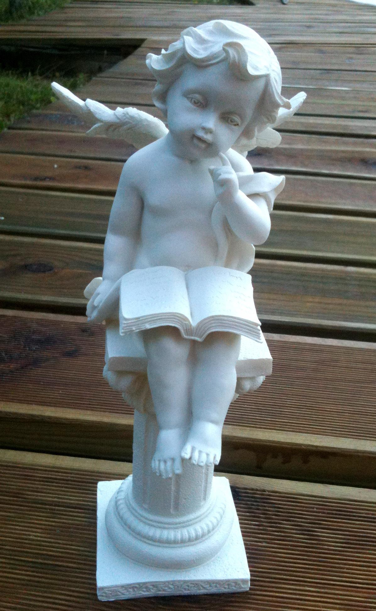 Acheter Statue Ange - Ange-Paradis serapportantà Statuette De Jardin