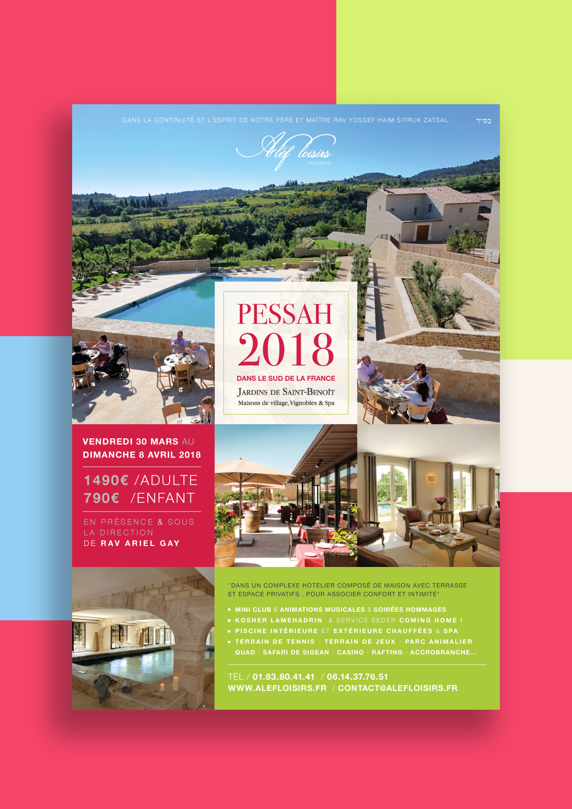 Affiche - Flyer - Holidays On Behance destiné Les Jardins De St Benoit Spa