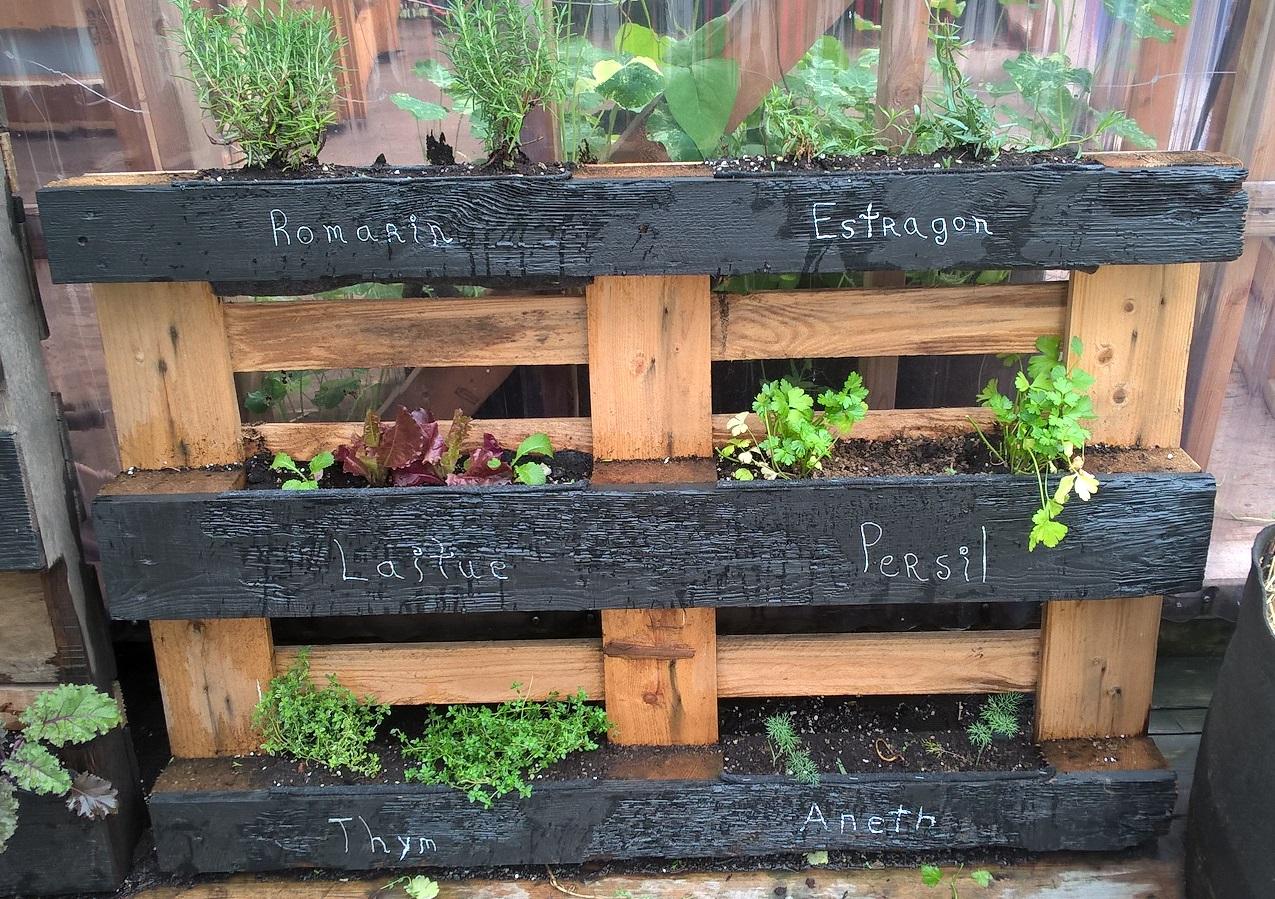 Agriculture Verticale - Jardiner À La Verticale concernant Bac À Jardiner