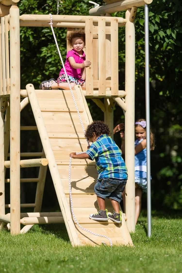 Aire De Jeux Pour Jardin - Idées En Images Pour Valoriser L ... encequiconcerne Jeux De Jardin Enfant
