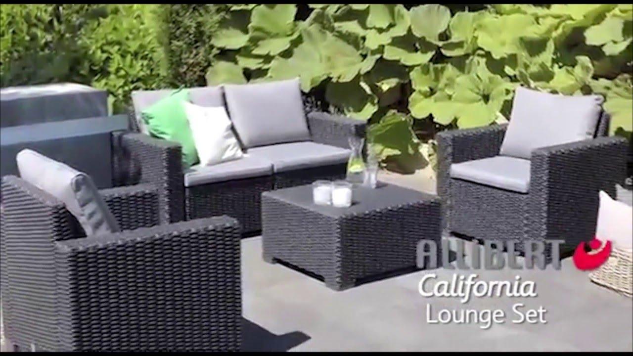Allibert California Lounge Set - Single Seater - Assembly Video concernant Allibert California