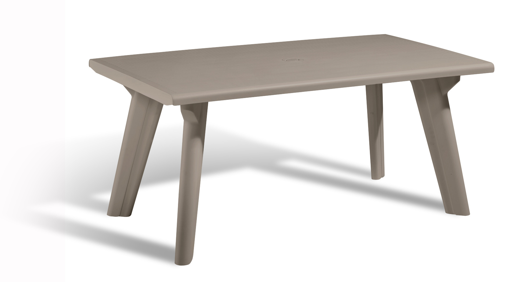 Allibert Dante Garden Table Cappuccino - Allibert serapportantà Table Allibert