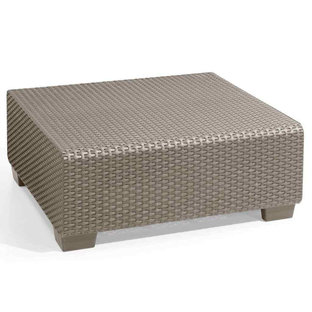Allibert Outdoor Table Salta/sapporo Cappuccino Garden Patio Furniture  236102 serapportantà Table Allibert