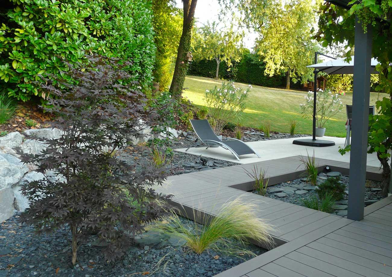 Aménagement De Jardin Contemporain - Lnp dedans Aménagement Du Jardin Photo