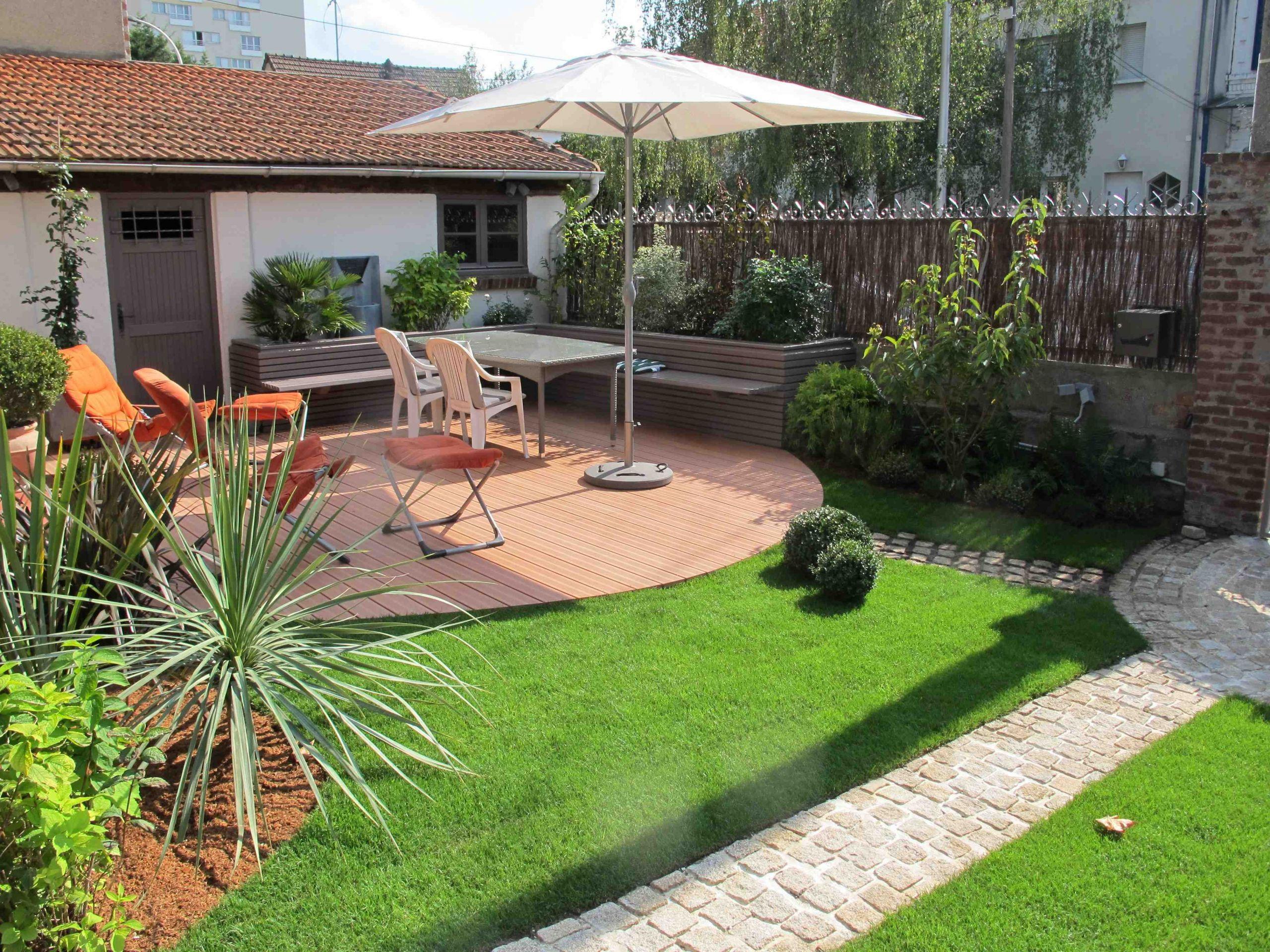 Aménagement Jardin Terrasse Amenagement Jardin Et Terrasse ... encequiconcerne Aménagement Du Jardin Photo