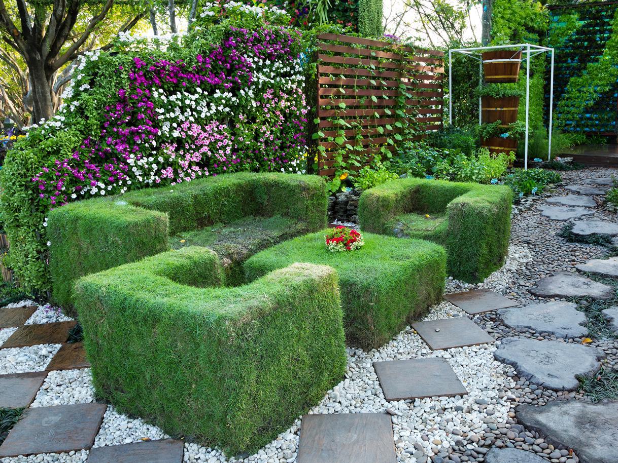 Aménagement Jardin Tunisie - Entretien Et Création Jardins pour Aménagement Du Jardin Photo