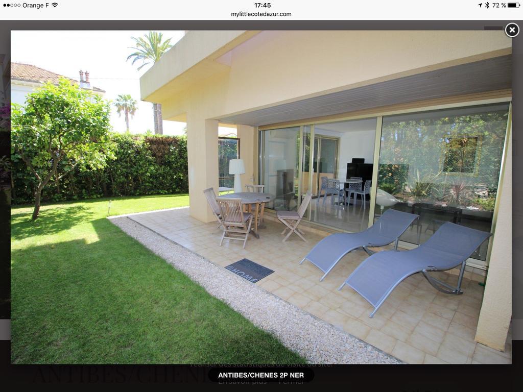 Apartment Les Nereides, Antibes, France - Booking destiné Location Rez De Jardin Antibes