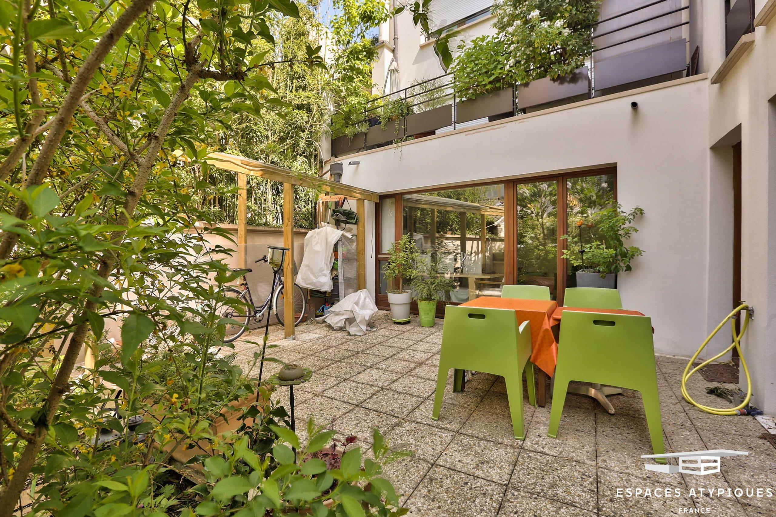 Appartement Avec Terrasse Et Jardin À Vendre À Paris 13E dedans Terrasses Et Jardins Paris