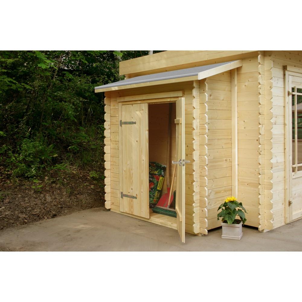 Armoire Adossable Solid Pour Abri De Jardin Solid Superia L.178Xl.69Xh.145Cm intérieur Abri Jardin Adossable