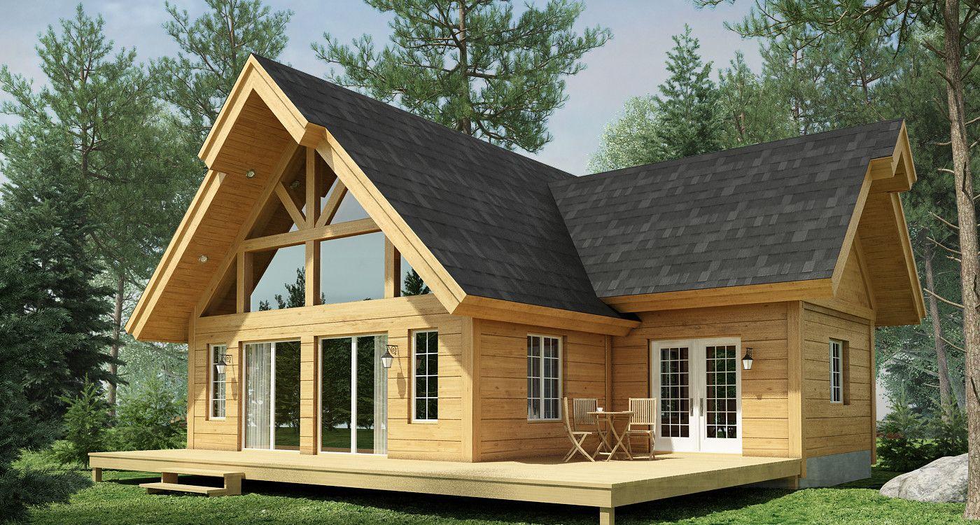 Aspen (With Images) | Cottage Exterior, House Exterior ... dedans Chalet Bois Habitable