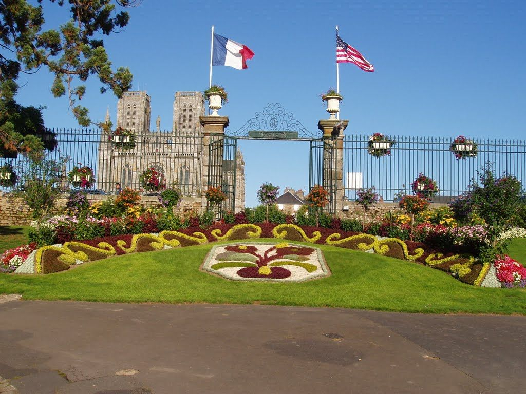 Avranches Jardin Des Plantes, France | My French Memories In ... serapportantà Le Jardin Des Plantes Avranches