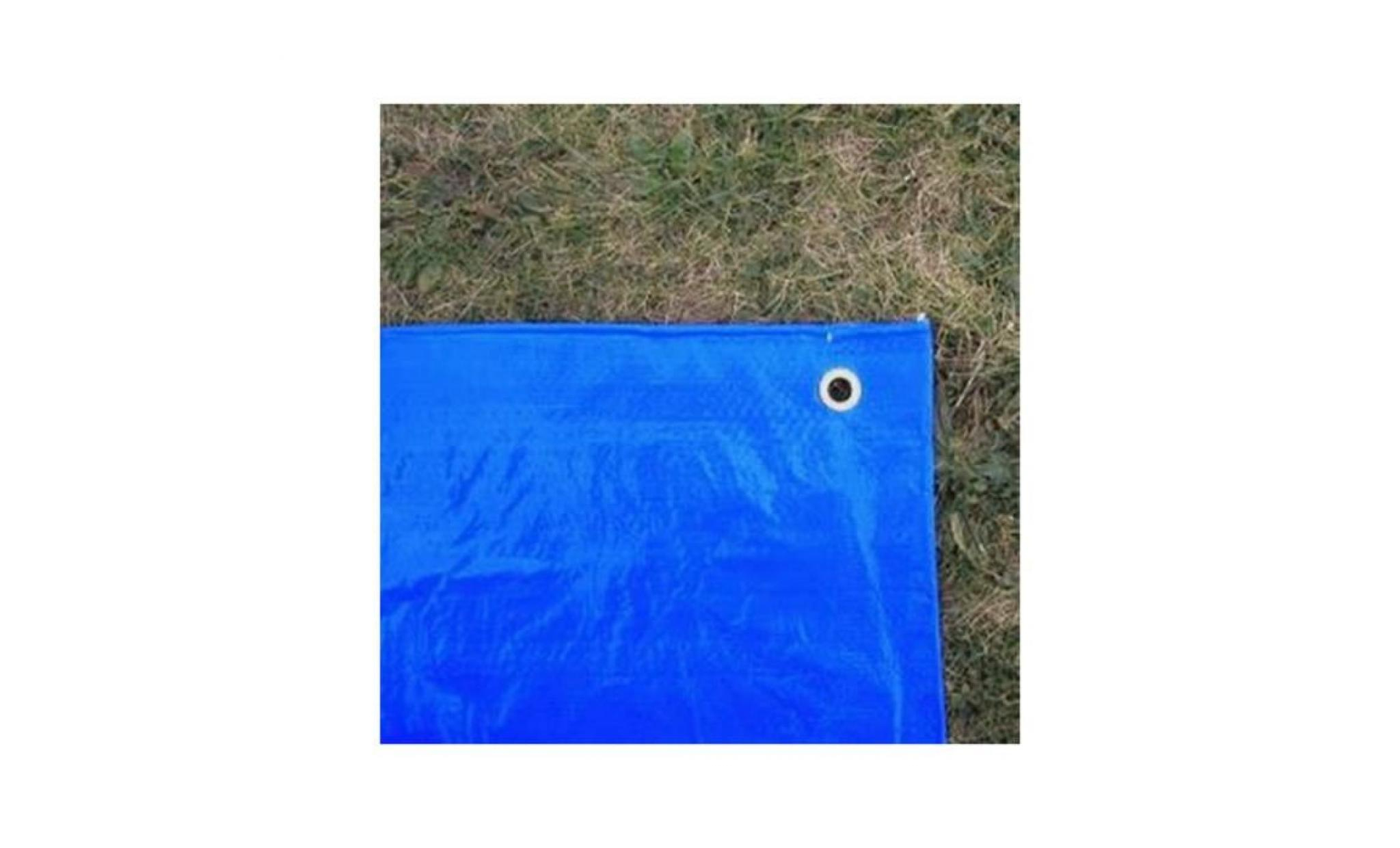 Baches Direct - Bâche Piscine 150 G/m² - 4 X 5 M - Couverture Piscine -  Bache Imperméable - Baches Piscine Bicolore : Verte Et Bleue serapportantà Bache Piscine Pas Cher