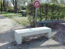 Banc Extérieur Pour Aménagement D'espaces Publics; Mobilier ... destiné Banc Extérieur Béton