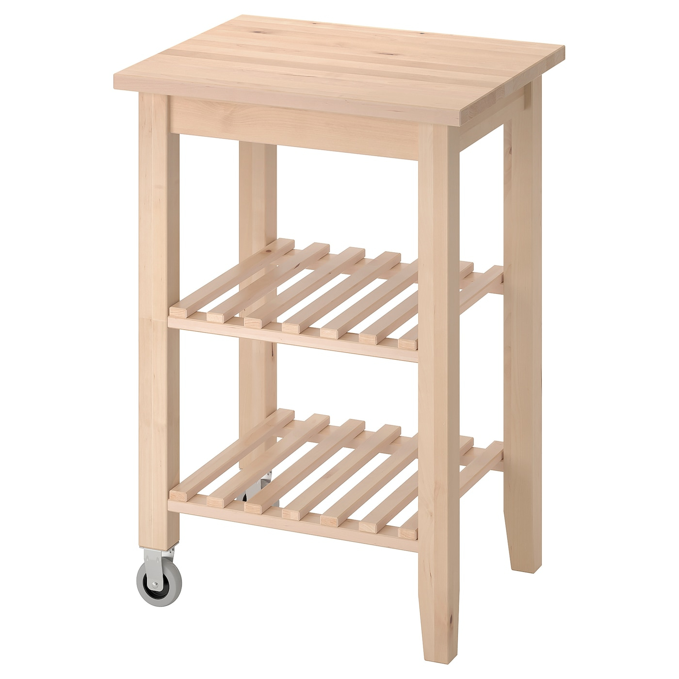 "Bekväm Kitchen Cart - Birch 22 7/8X19 5/8 "" (58X50 Cm) dedans Ikea Desserte"
