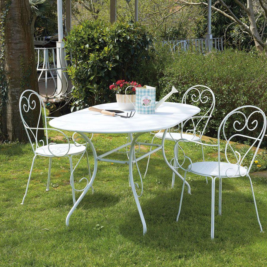 Blooma Flores Bahçe Yemek Seti | Koçtaş | Masa | Mobilya ... destiné Table De Jardin Blooma