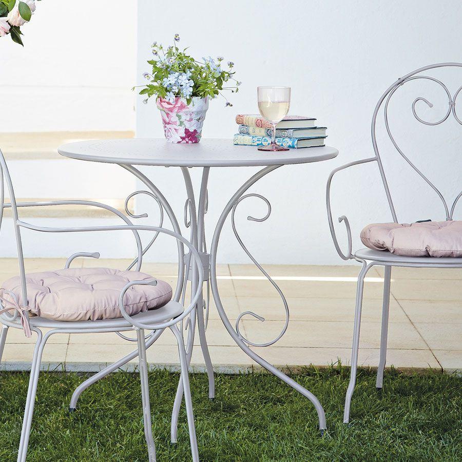 Blooma Flores Ferforje Masa Beyaz - Koçtaş | Ev Dekoru ... encequiconcerne Table De Jardin Blooma
