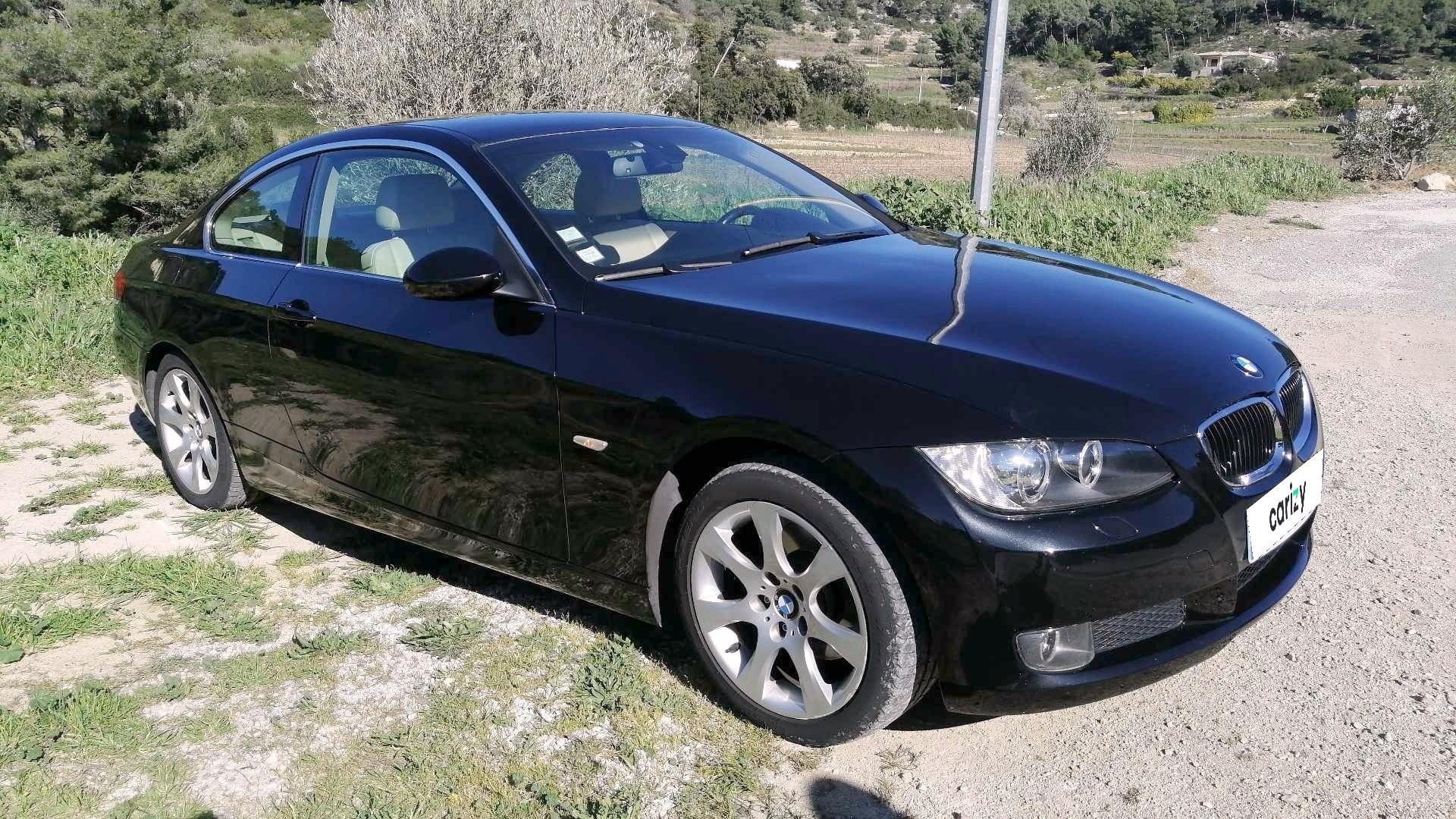 Bmw Serie 3 Coupe E92 Série 3 320D 177 Ch Luxe 2009 - 127 000 Km - Diesel -  À Bandol (83) intérieur Voiture Occasion Bandol