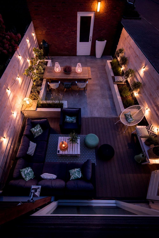 Border Bakken | Tuin | Aménagement Paysager De Petits ... concernant Deco Design Jardin Terrasse