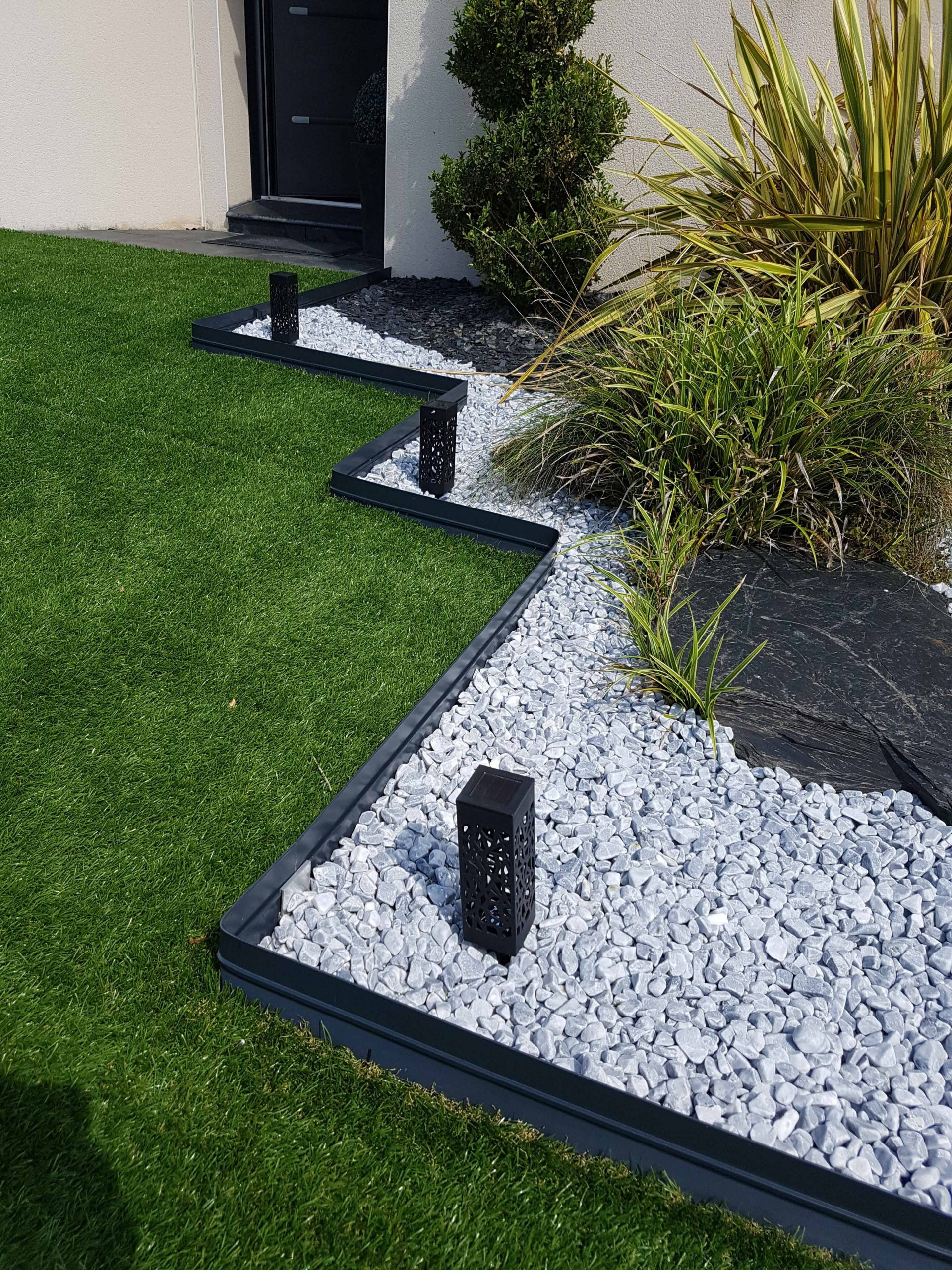 Bordure Bordalu Gris Anthracite | Bordure Terrasse, Bordure ... destiné Bordure Jardin